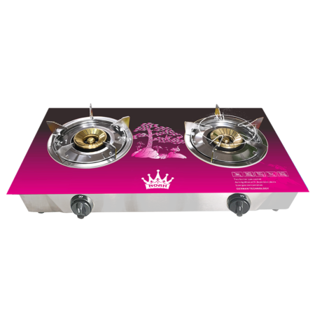 GAS STOVE:NGS-4440 (Double Burner) :Pink