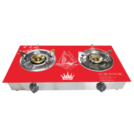 GAS STOVE:NGS-4440 (Double Burner) :Red