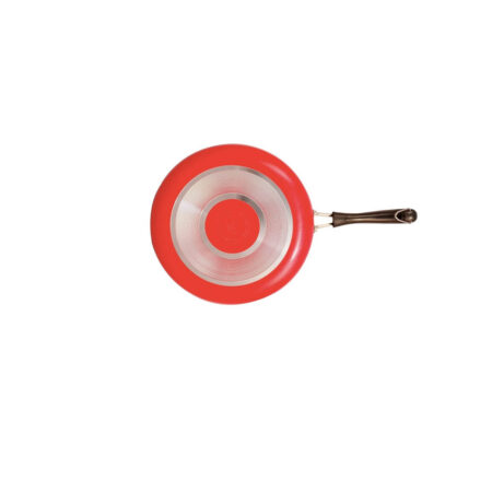 Non-stick Taper Fry Pan Red- Gas Bottom